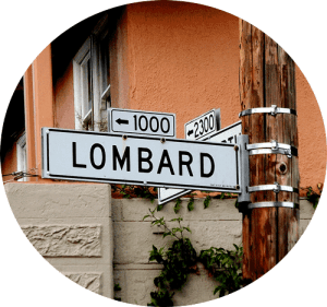 Calle lombard Street