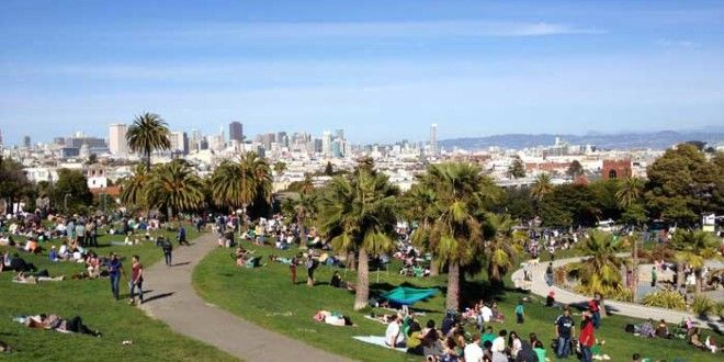 Domingo en Mission Dolores Park San Francisco